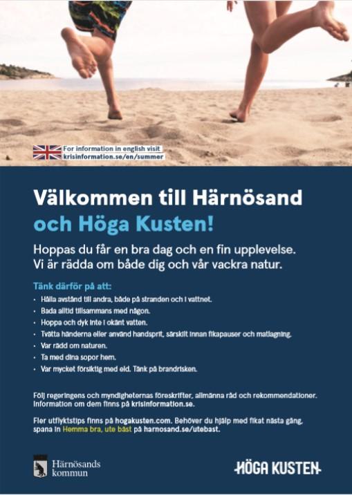 Härnösands kommun: Allmänna råd på badplatser