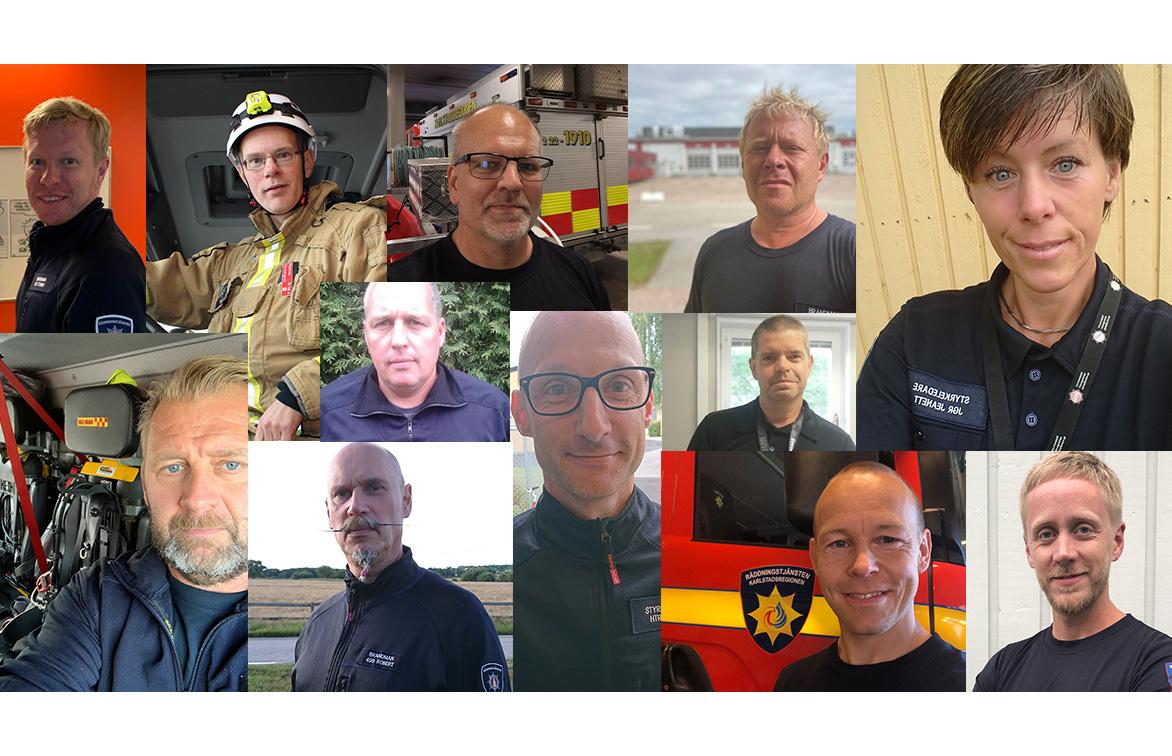 Den 1 september, 2020 uppmärksammas deltidsbrandmännen under Brandman på jobbet-dagen