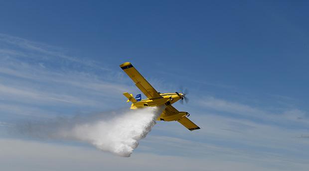 Den 15 juni 2020 aktiverades de mindre skopande flygplanen för första gången.